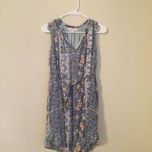 Loft Floral Patterned Dress